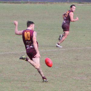 PBC's Jesse Derrick in action