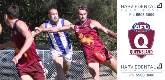 Josh Woolley in action for PBC Lions - 2016 QAFL Semi Final