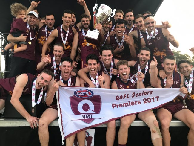 Lion Kings of the QAFL 2017